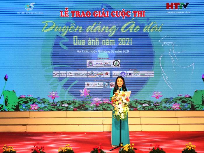 """Hà Tĩnh: Trao giải cuộc thi """"Duyên dáng áo dài qua ảnh"""" - Ảnh 2."""