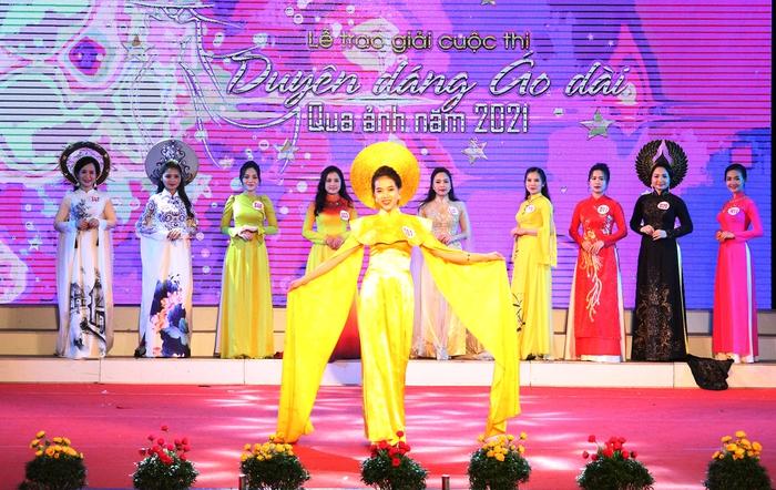 """Hà Tĩnh: Trao giải cuộc thi """"Duyên dáng áo dài qua ảnh"""" - Ảnh 5."""