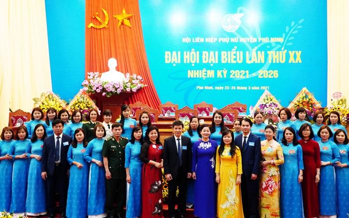 Phú Thọ tổ chức Đại hội đại biểu Phụ nữ cấp huyện đầu tiên trong cả nước