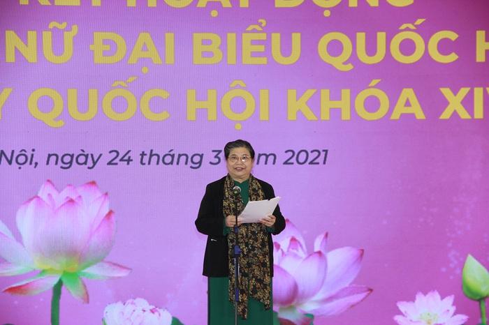 Các nữ ĐBQH tiếp tục khẳng định bản lĩnh, trí tuệ của người đại biểu nhân dân - Ảnh 2.