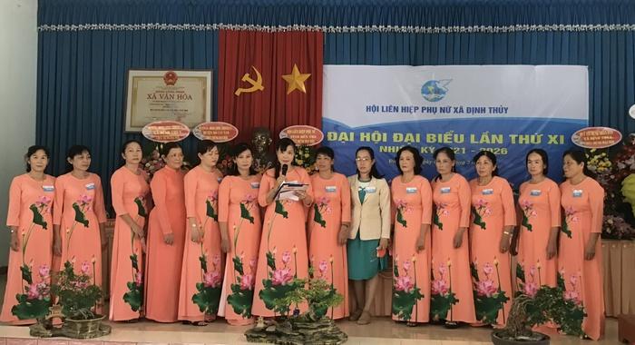 Bến Tre: Hội LHPN xã Định Thủy quyết tâm xây dựng chi, tổ Hội vững mạnh - Ảnh 1.