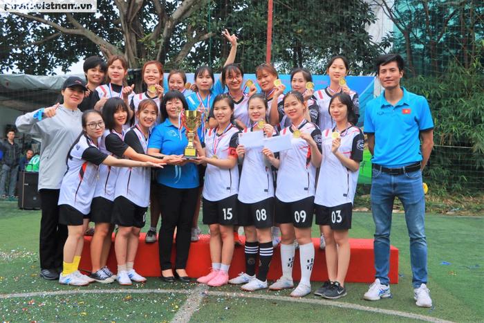 Hội LHPNVN vô địch giải bóng đá nữ Đoàn Thanh niên  khối các cơ quan Trung ương - Ảnh 10.