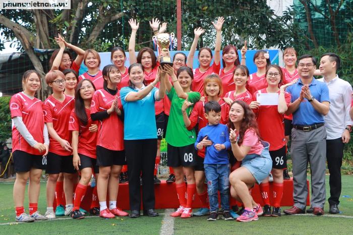 Hội LHPNVN vô địch giải bóng đá nữ Đoàn Thanh niên  khối các cơ quan Trung ương - Ảnh 11.