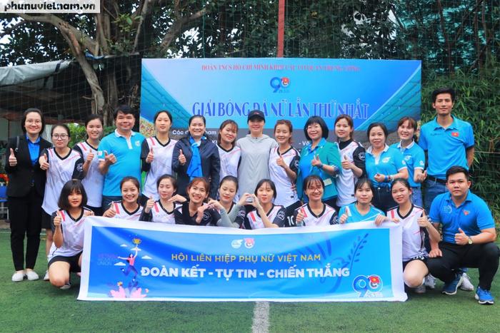 Hội LHPNVN vô địch giải bóng đá nữ Đoàn Thanh niên  khối các cơ quan Trung ương - Ảnh 12.