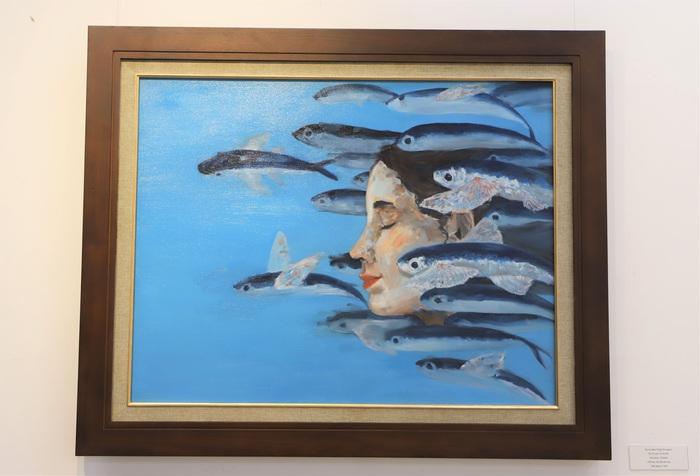 """""""Hồi hải mãi"""" – triển lãm mỹ thuật siêu chất của nữ sinh Vinschool - Ảnh 3."""