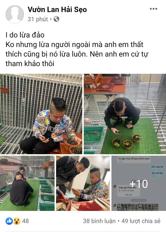 Giang hồ mạng Dương Minh Tuyền nói gì về thông tin bị tố lừa bán lan đột biến ? - Ảnh 1.