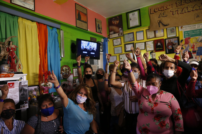 """Bị đại dịch """"dồn vào đường cùng"""", phụ nữ Mexico quay lại con đường mại dâm - Ảnh 3."""