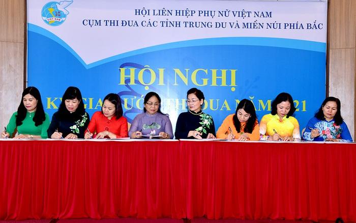Hội LHPN Cụm 7 tỉnh miền núi, trung du cần theo sát công tác bầu cử ĐBQH, HĐND các cấp - Ảnh 2.