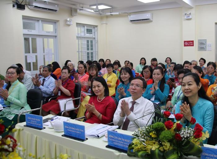 TPHCM: Đại hội Đại biểu phụ nữ phường 8 lần thứ XIII (nhiệm kỳ 2021-2026) - Ảnh 2.