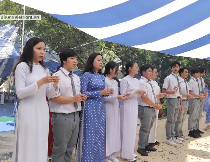 Lễ Giỗ Tổ  thiêng liêng và xúc động ở ngôi trường mang tên Hùng Vương - Ảnh 7.