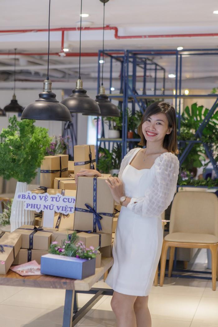8x giới thiệu dự án bảo vệ tử cung phụ nữ Việt  - Ảnh 1.