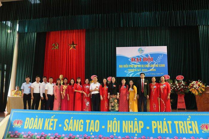 Hưng Yên: 10/10 xã, huyện, thị tổ chức thành công Đại hội đại biểu phụ nữ cấp cơ sở - Ảnh 1.