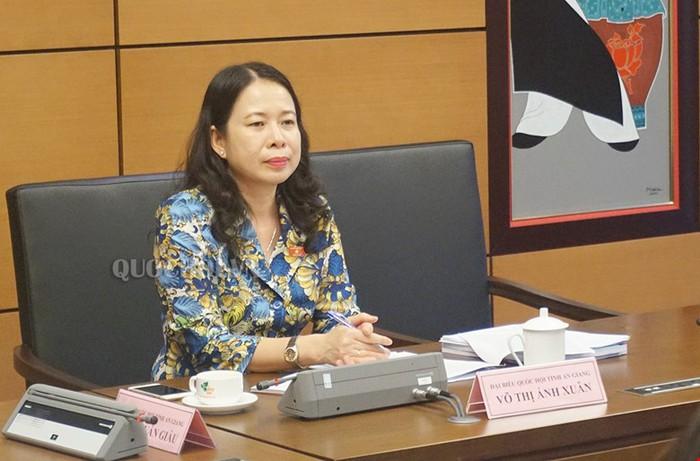 Giới thiệu Bí thư An Giang Võ Thị Ánh Xuân bầu làm Phó Chủ tịch nước - Ảnh 1.