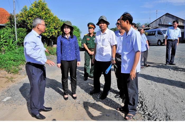 Bà Võ Thị Ánh Xuân - từ nữ Bí thư 7X đến Phó Chủ tịch nước - Ảnh 7.