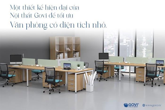 Kiến tạo không gian làm việc đầy cảm hứng với nội thất văn phòng Govi - Ảnh 2.