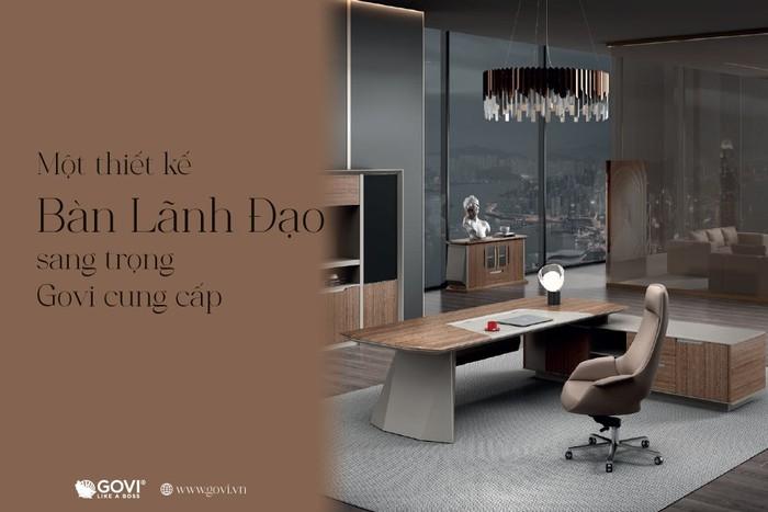 Kiến tạo không gian làm việc đầy cảm hứng với nội thất văn phòng Govi - Ảnh 4.
