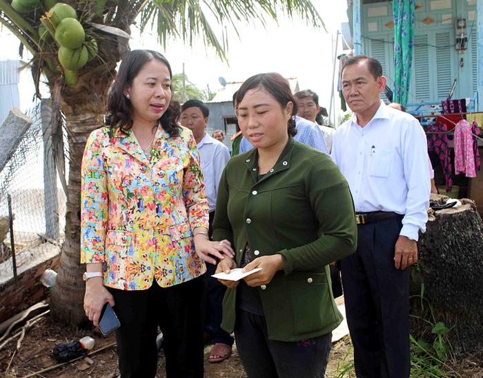 Bà Võ Thị Ánh Xuân - từ nữ Bí thư 7X đến Phó Chủ tịch nước - Ảnh 8.