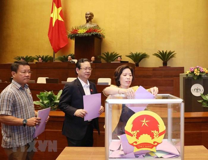 Miễn nhiệm Tổng Kiểm toán Nhà nước và 5 nhân sự chủ chốt của Quốc hội - Ảnh 1.