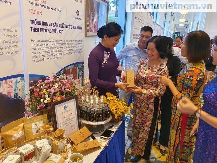 Cuộc thi Phụ nữ khởi nghiệp do TƯ Hội LHPN Việt Nam mang đến cơ hội cho chị em phụ nữ mọi vùng miền, đối tượng nỗ lực vươn lên phát triển kinh tế, chứng minh năng lực và vai trò của mình.
