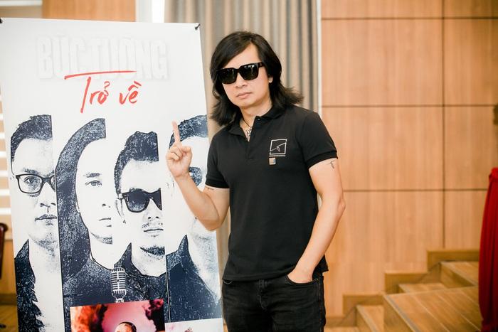 Guitarist Trần Tuấn Hùng - thủ lĩnh hiện tại của Bức Tường