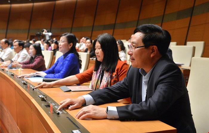 Phê chuẩn Phó Chủ tịch và ủy viên Hội đồng bầu cử quốc gia, có 4 nhân sự là nữ - Ảnh 1.