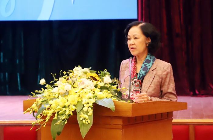 Dấu ấn bà Trương Thị Mai - Nữ Trưởng ban Tổ chức Trung ương đầu tiên  - Ảnh 7.