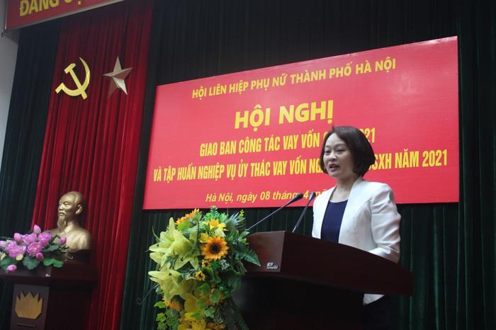 153.325 hội viên phụ nữ thủ đô được vay vốn để phát triển kinh tế trong quý I/2021 - Ảnh 1.