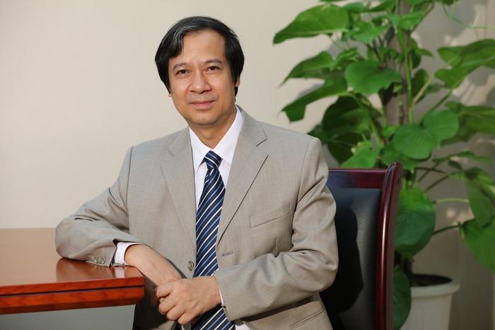 Dấu ấn nhà giáo Nguyễn Kim Sơn - tân Bộ trưởng Bộ GD&ĐT - Ảnh 1.