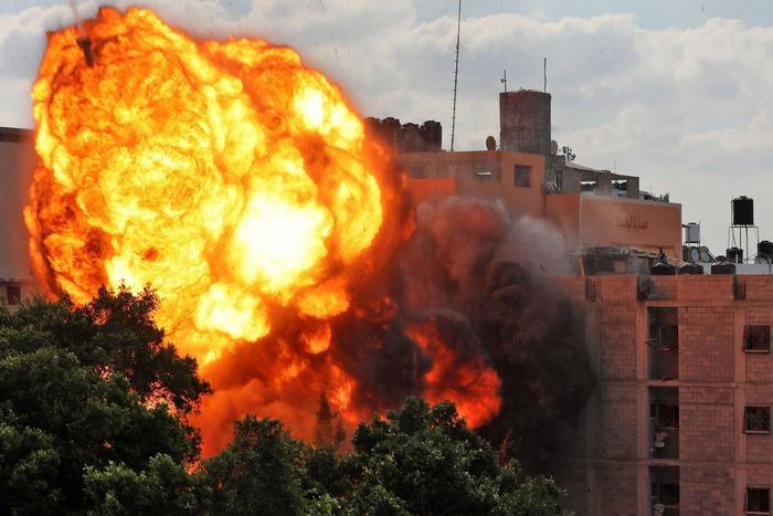 Gaza - không kích