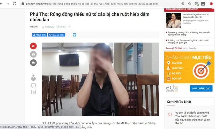Báo PNVN sau khi tiếp nhận lời kêu cứu của 2 mẹ con chị H. đã có nhiều bài viết phản ánh sự việc