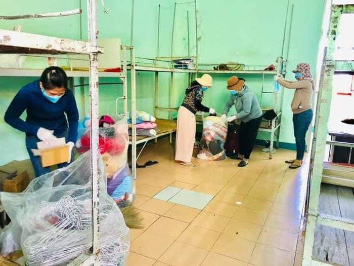Phụ nữ quận Sơn Trà hỗ trợ chính quyền phòng chống dịch Covid-19 và tuyên truyền bầu cử Quốc hội và HĐND thành phố nhiệm kỳ 2021-2026 - Ảnh 2.