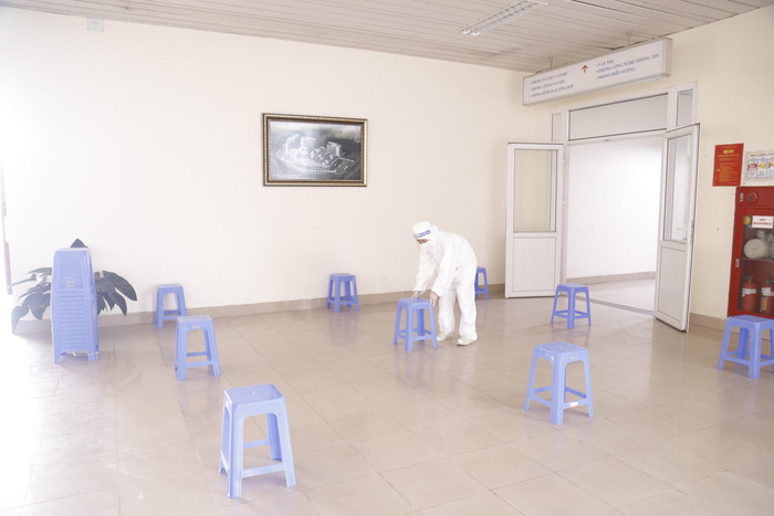 Những hình ảnh Bệnh viện K TƯ chuẩn bị công tác bầu cử ĐBQH và HĐND các cấp - Ảnh 2.