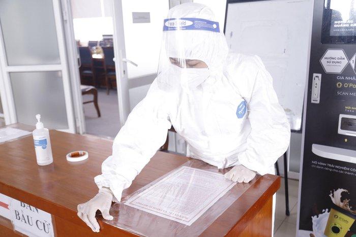 Những hình ảnh Bệnh viện K TƯ chuẩn bị công tác bầu cử ĐBQH và HĐND các cấp - Ảnh 1.