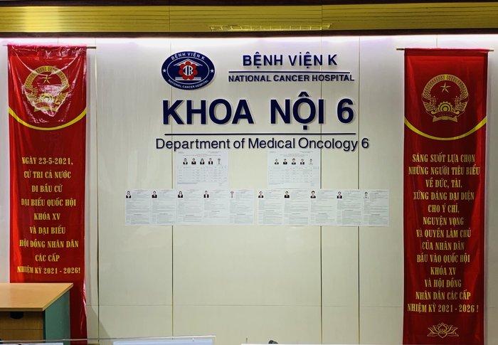Những hình ảnh Bệnh viện K TƯ chuẩn bị công tác bầu cử ĐBQH và HĐND các cấp - Ảnh 3.