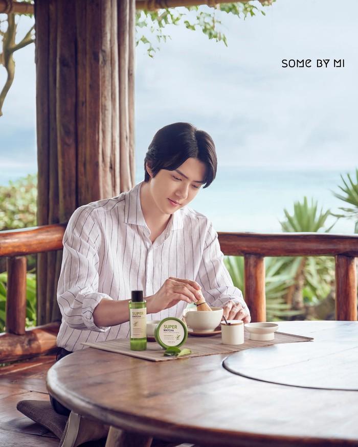 Trà xanh vùng Bosung – Bảo vật thu nhỏ lỗ chân lông mới của tín đồ làm đẹp - Ảnh 1.