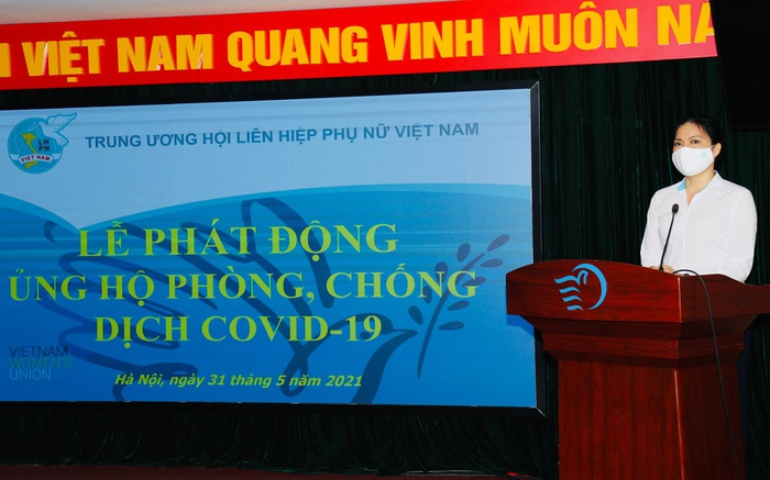 TƯ Hội LHPN Việt Nam phát động ủng hộ phòng, chống dịch Covid-19