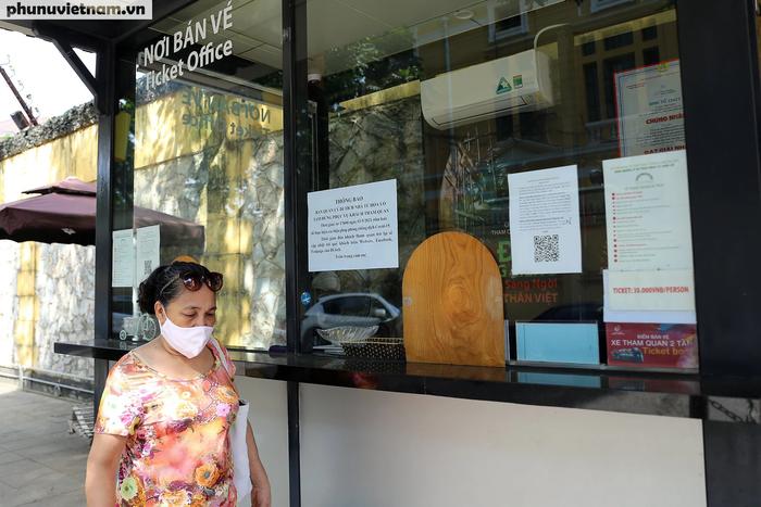 Các di tích nổi tiếng ở Hà Nội đồng loạt đóng cửa để phòng chống Covid-19 - Ảnh 8.