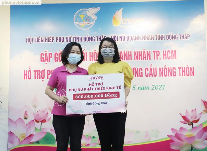 Hội LHPN Việt Nam kết nối xây cầu và hỗ trợ phụ nữ khởi nghiệp tại Đồng Tháp - Ảnh 3.