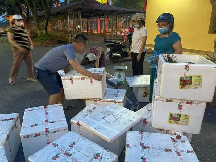 Hội LHPN tỉnh Phú Thọ hỗ trợ nông sản cho nông dân vùng dịch - Ảnh 1.