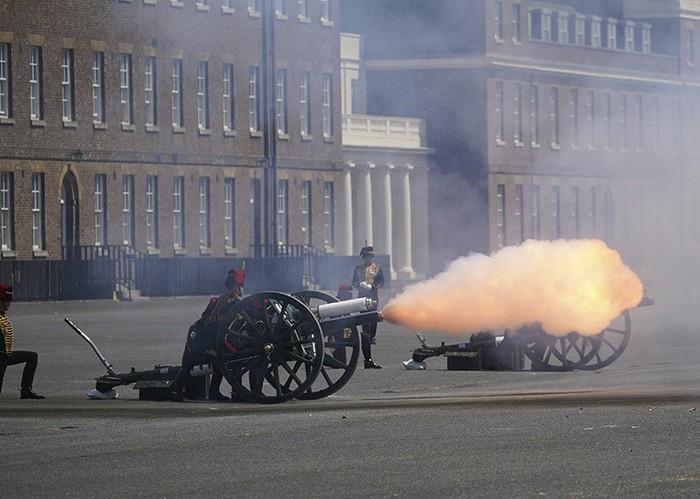Lễ diễu binh mừng sinh nhật lần thứ 95 của nữ hoàng Anh Elizabeth II - Ảnh 5.