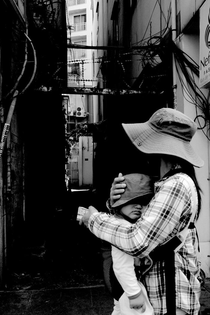 Sài Gòn, phố và người những ngày giãn cách - Ảnh 3.