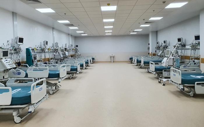 Cận cảnh Bệnh viện hồi sức Covid-19 với 1.000 giường tại TPHCM