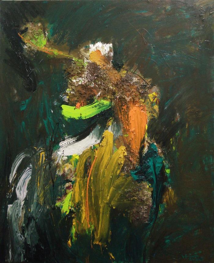 Một bức tranh của họa sĩ Nguyễn Hiển