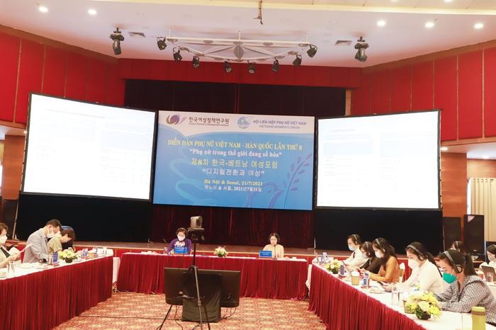 Diễn đàn Phụ nữ Việt Nam - Hàn Quốc lần thứ 8 - công nghệ số