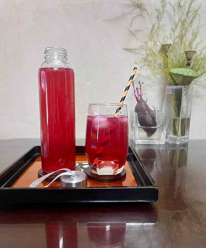 4 bước làm trà tía tô chanh sả tăng sức đề kháng, giải nhiệt cho cơ thể  - Ảnh 3.