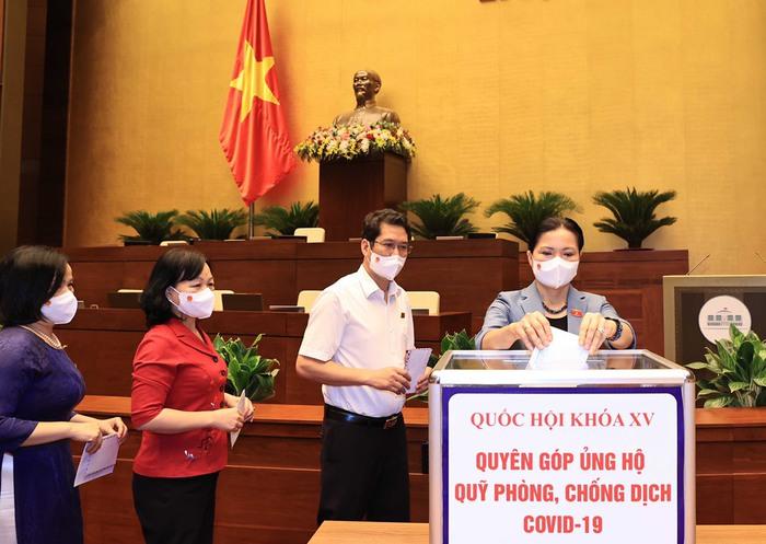 Quốc hội phát động quyên góp ủng hộ Quỹ vaccine phòng, chống dịch Covid-19 - Ảnh 1.