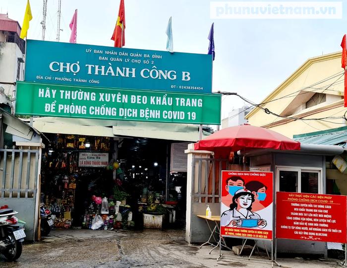Những điều cần biết về phòng chống dịch tại chợ truyền thống trong những ngày giãn cách xã hội - Ảnh 1.