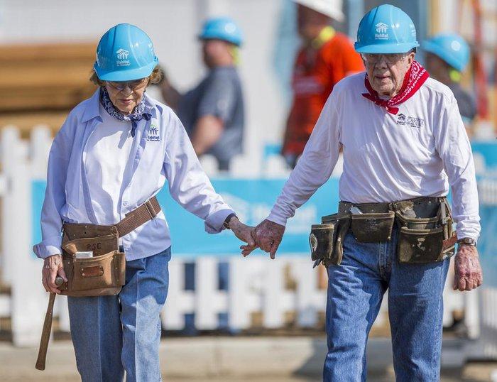 """Cuộc hôn nhân """"không tuổi"""" của cựu tổng thống Jimmy Carter và vợ qua gần 8 thập kỷ - Ảnh 2."""