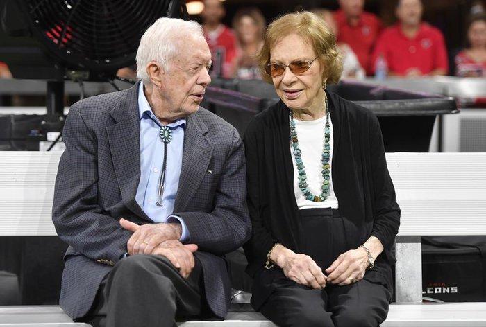 """Cuộc hôn nhân """"không tuổi"""" của cựu tổng thống Jimmy Carter và vợ qua gần 8 thập kỷ - Ảnh 1."""