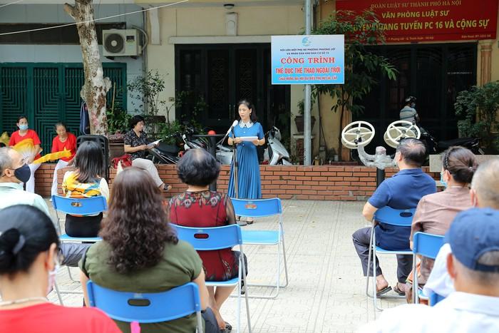 Hà Nội: Hội LHPN phường Phương Liệt khánh thành công trình Thể dục thể thao ngoài trời - Ảnh 1.